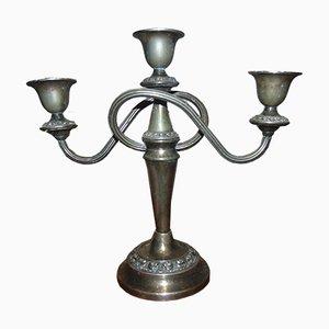 Vintage Kerzenhalter aus Messing, 1950er