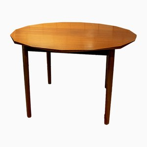 Rosewood and Walnut Dining Table, 1960s