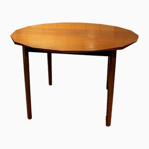 Table de Salle à Manger en Palissandre et en Noyer, années 60