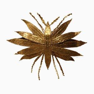 Applique in bronzo dorato di Paul Moerenhout, anni '60