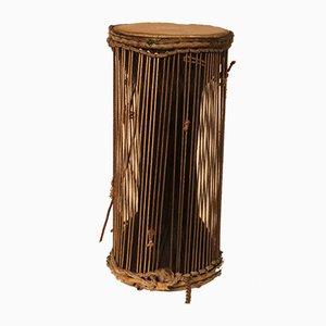 Antike afrikanische sprechende Trommel