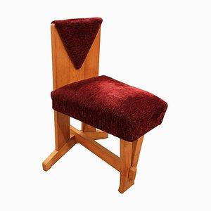 Chaise d'Appoint Art Déco de Laurens Groen, années 20