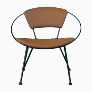 Mid-Century Model Hoop Armchair by John Hauser for Hauser, 1950s