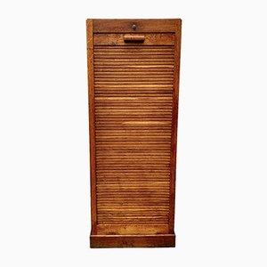 Vintage Tambour Cabinet, 1950s