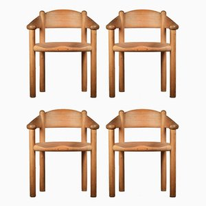 Dining Chairs by Rainer Daumiller for Hirtshalls Sawmills, 1960s, Set of 4