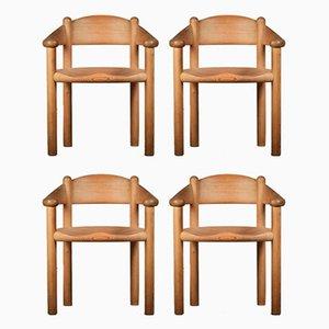 Esszimmerstühle von Rainer Daumiller für Hirtshalls Sawmills, 1960er, 4er Set