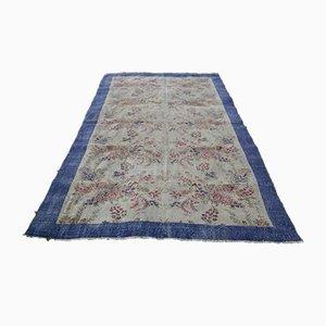 Vintage Oushak Carpet, 1970s