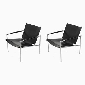 SZ02 Armchairs by Martin Visser for t Spectrum, 1960s, Set of 2