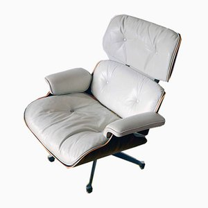 Leather Lounge Chair by Charles Eames for Herman Miller, 1950s