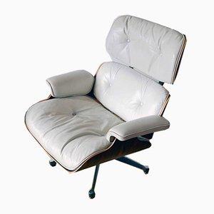 Sillón de cuero de Charles Eames para Herman Miller, años 50