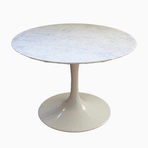 Mesa de centro Tulip de mármol de Eero Saarinen para Knoll Inc. / Knoll International, años 80