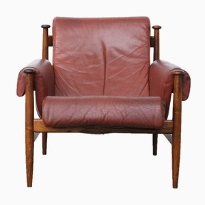 Rosewood Lounge Chair by Eric Merton for Ire Møbler, 1964