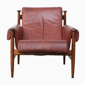 Sessel mit Gestell aus Palisander von Eric Merton für Ire Møbler, 1964