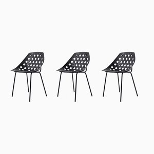 Side Chairs by Pierre Guariche for Meurop, 1960s, Set of 3