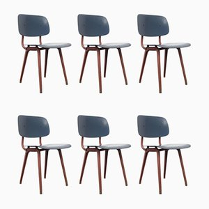 Dining Chairs by Friso Kramer for Ahrend De Cirkel, 1953, Set of 6
