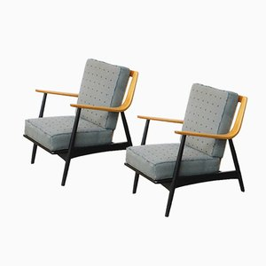 Lounge Chairs by Peter Hvidt & Orla Mølgaard-Nielsen, 1950s, Set of 2