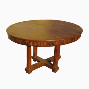 Antique Rosewood Dining Table by Jauvert & Alet for Maurice Alet