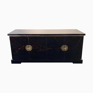 Lacquered Wood Sideboard, 1970s