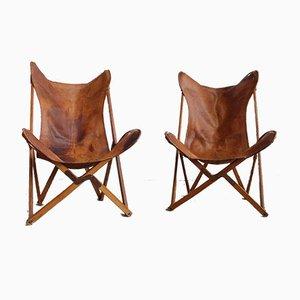 Tripolina Stuhl von Joseph Fendy für Viganò, 1940er