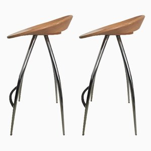 Stools by Design Group Italia, 1990s, Set of 2