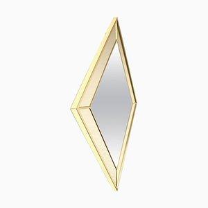 Espejo de metal dorado de Maison Jansen, años 70