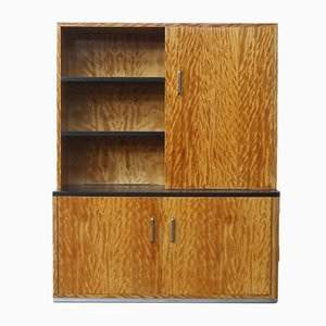 Art Deco Wall Cabinet or Bookcase by Bas van Pelt, 1930s