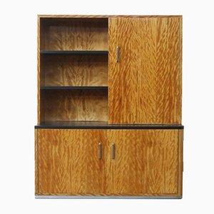 Mueble o librería Art Déco de Bas van Pelt, años 30