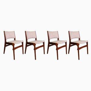 Chaises de Salle à Manger par Erik Buch pour Anderstrup Mobelfabrik, années 60, Set de 4