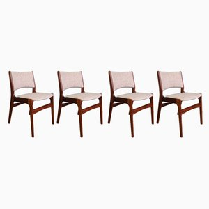 Dining Chairs by Erik Buch for Anderstrup Mobelfabrik, 1960s, Set of 4