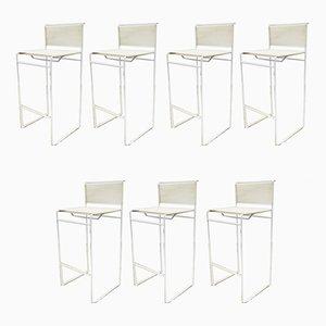 Beistellstühle & Barhocker von Giandomenico Belotti für Fly Line, 1970er, 7er Set