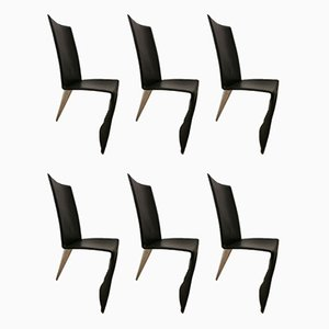 Dining Chairs by Philippe Starck for Aleph, 1980s, Set of 6