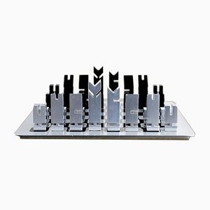 French Chess Set by Walter et Moretti, 1970s