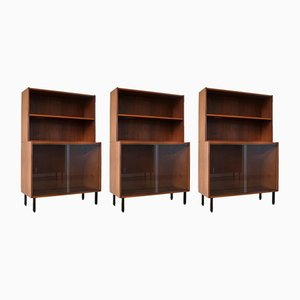 Vintage Modular Cabinets from EEKA, 1960s, Set of 3