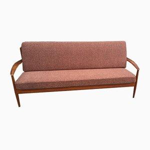 Danish Teak Sofa by Grete Jalk for France & Søn, 1950s