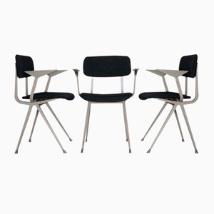 Industrial Armchairs by Friso Kramer, 1950s, Set of 6