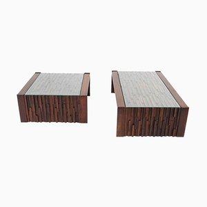 Tavolini di Percival Lafer, anni '60, set di 2