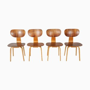 SB13 Dining Chairs by Cees Braakman for Pastoe, 1950s, Set of 4