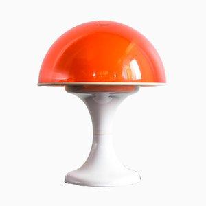Lámpara de mesa hongo, años 70