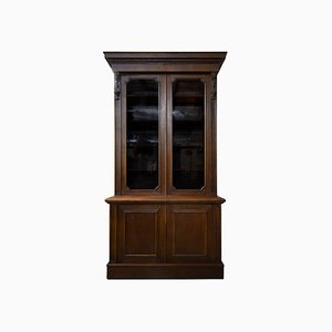 Antique Victorian Oak Bookcase