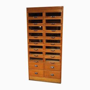 Vintage Industrial Shop Display Cabinet, 1930s