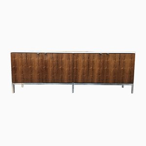 Rosewood and Marble Sideboard by Florence Knoll Bassett for Knoll Inc. / Knoll International, 1960s