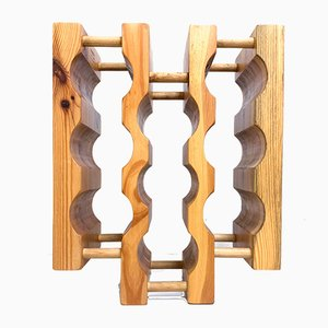 Mid-Century Pinewood Wine Racks by Johnsson Stig for Smålandsslöjd Värnamo