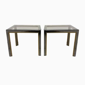 Side Tables by Renato Zevi, 1970s, Set of 2