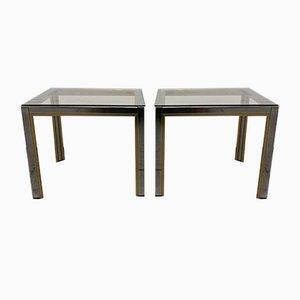 Tables d'Appoint par Renato Zevi, 1970s, Set de 2