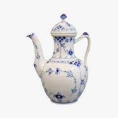 Cafetera No. 518 de porcelana de Arnold King para Royal Copenhagen, 1966