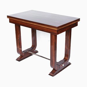 Art Deco Rosewood Side Table, 1930s