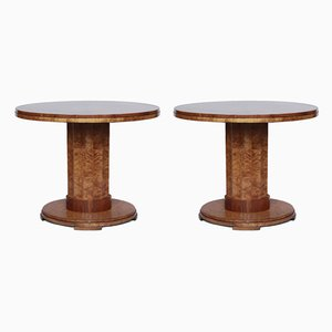 Art Deco Coffee Tables by Harry & Lou Epstein, 1930s, Set of 2