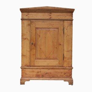 Antiker Biedermeier Schrank aus Holz