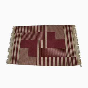 Teppich mit geometrischem Muster von Kybal Antonín, 1948