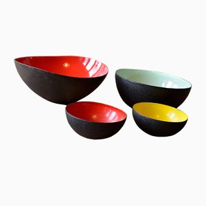 Bowls by Herbert Krenchel, 1953, Set of 4